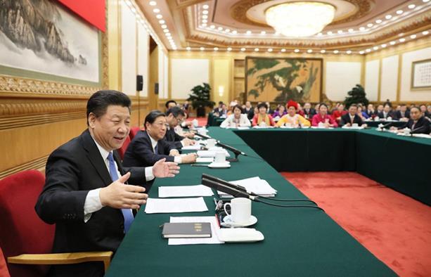 习近平参加湖南代表团审议