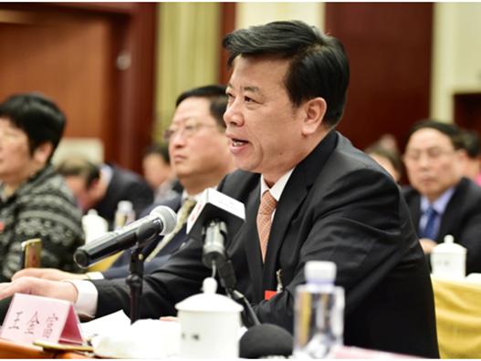 人大代表王金富:坚持科技创新推动农业机械化再上新水平