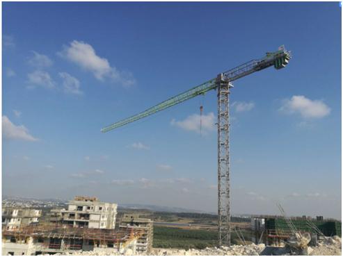 中联重科4.0塔机点亮以色列市场为当地基建添砖加瓦