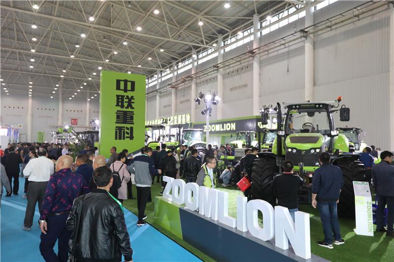 关注丨中国国际农机展上中联重科智能农机精品又成焦点