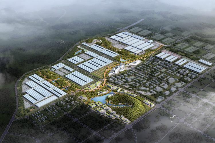 中联重科智慧产业城项目正式启动打造千亿规模高端装备智能制造典范
