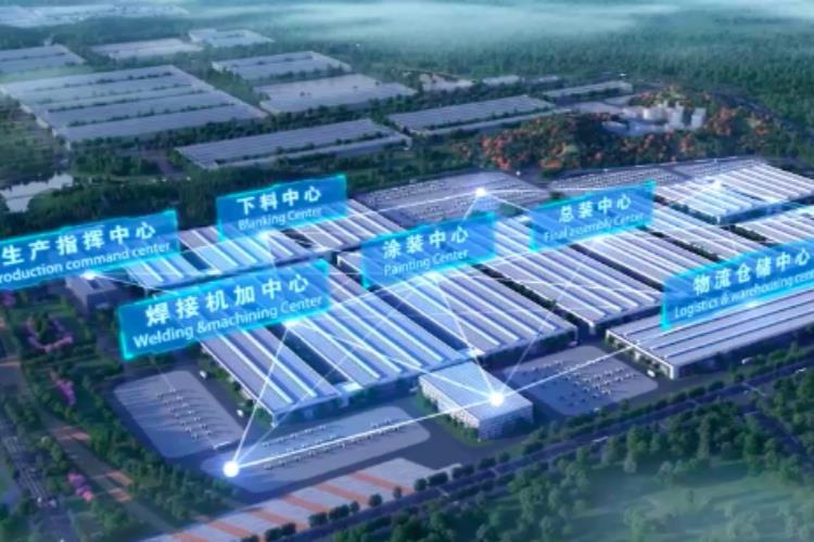 """走进中联重科智慧产业城土方机械园区领略""""未来智造"""""""