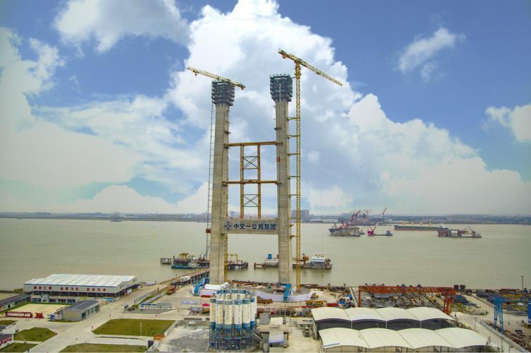 4.0产品施工丨中联重科塔机参建十三五重点工程瓯江北口大桥攻克三大施工难题